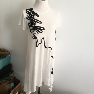 Doo Ri Macy's impulse ribbon tunic dress Doo.Ri XS